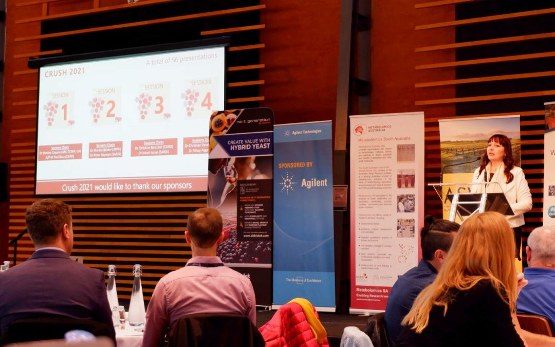 Early career researchers showcase Centre research at Crush Symposium 2021